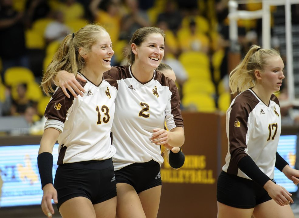 Wyoming Stuns #15 Colorado As Buffaloes Without Star MB Naghede Abu