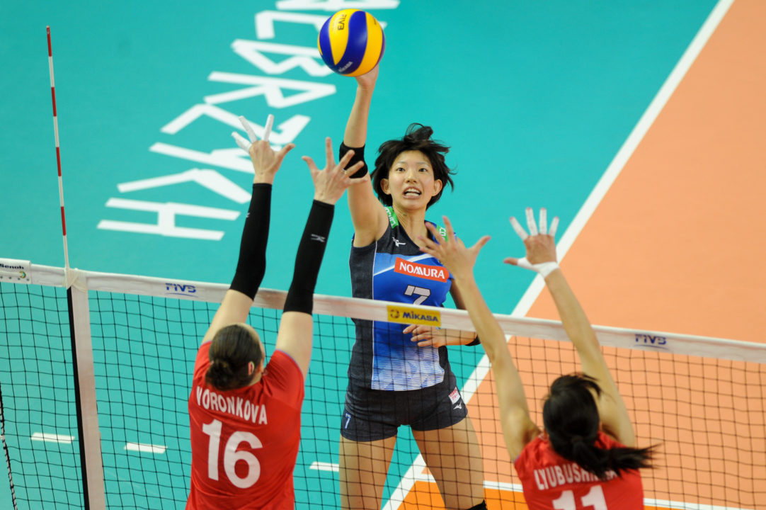The W. Volleyball Championship Bracket is Set at the 2018 Asian Games