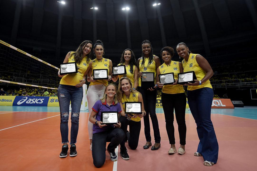 Brazil Celebrates 10th Anniversary Of Amazing Beijing Gold Medal Run