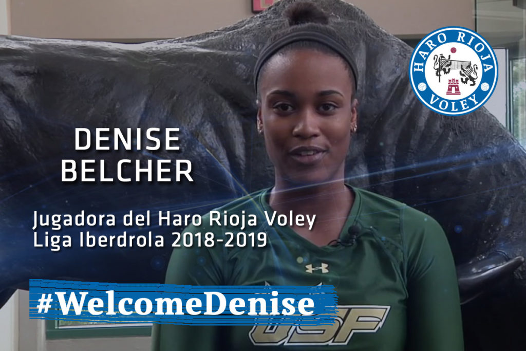 Denise Belcher Signs In Spain With Haro Rioja Voley