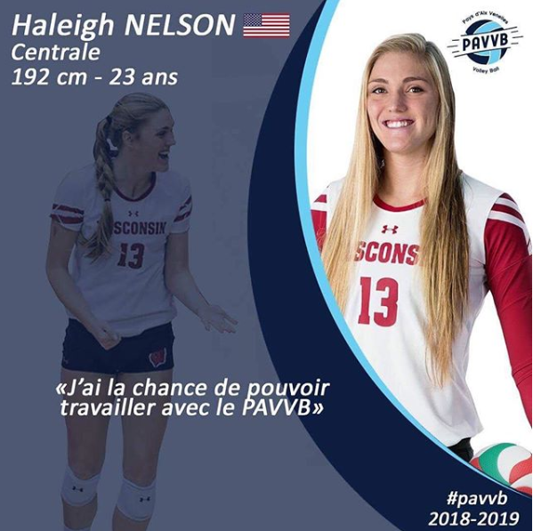 LSU's Haleigh Nelson Signs 1st Pro Contract In France