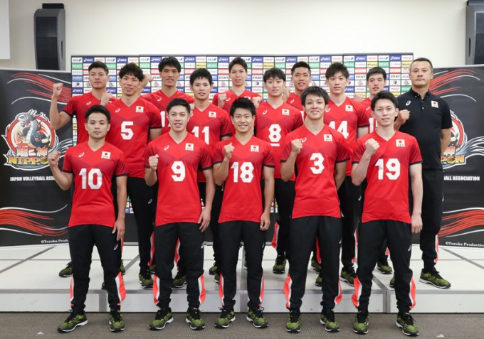 Japan Men's World Champs Roster Revealed