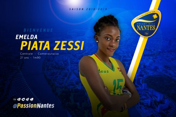 Nantes Signs Cameroonian Olympian Emelda Zessi