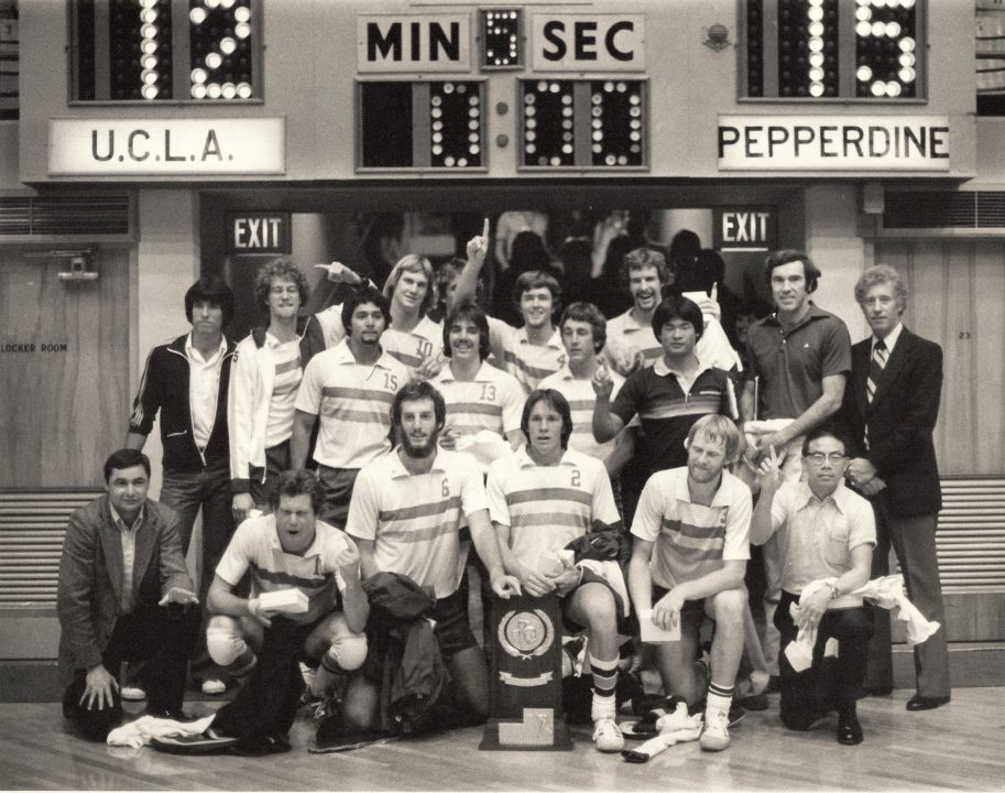 Pepperdine Brings 1978 NCAA Men's Volleyball Champs Back Together