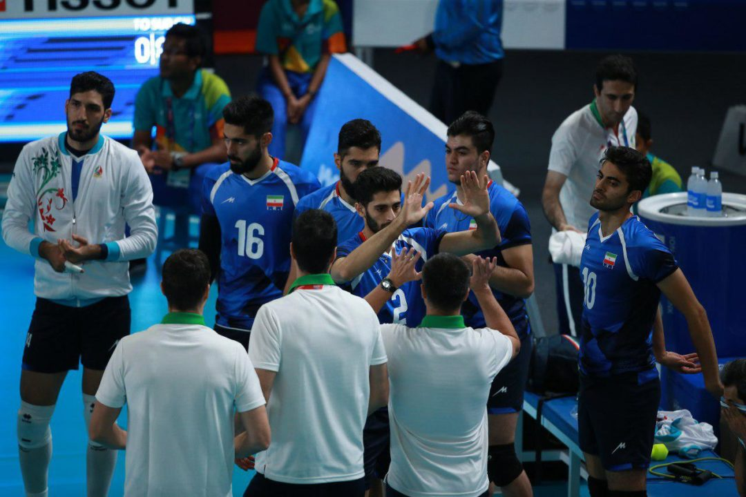 Iran Sweeps South Korea to Win 2nd-Straight Asian Games Men's Gold