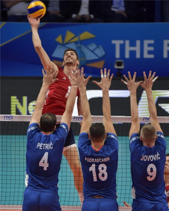 United States Claims Bronze Medal With Win Over Serbia