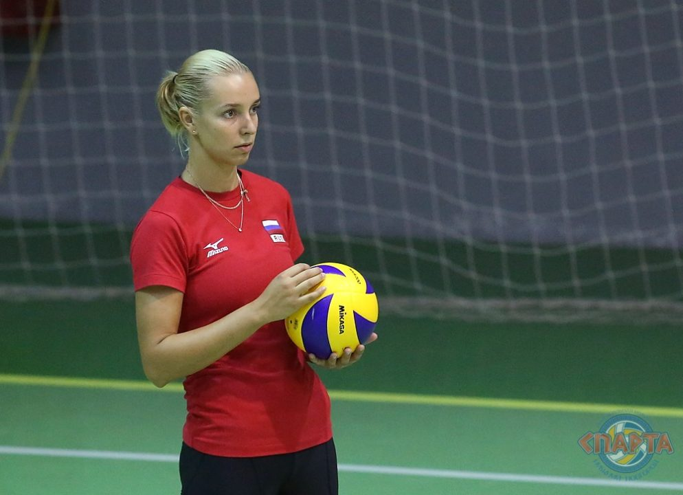 Regina Moroz Comes Out Of Retirement To Play For Sparta Novgorod