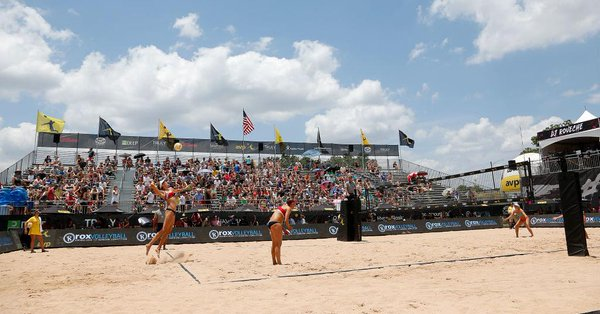 5 American Teams, 2 Brazilians Among Final 8 at AVP Waikiki