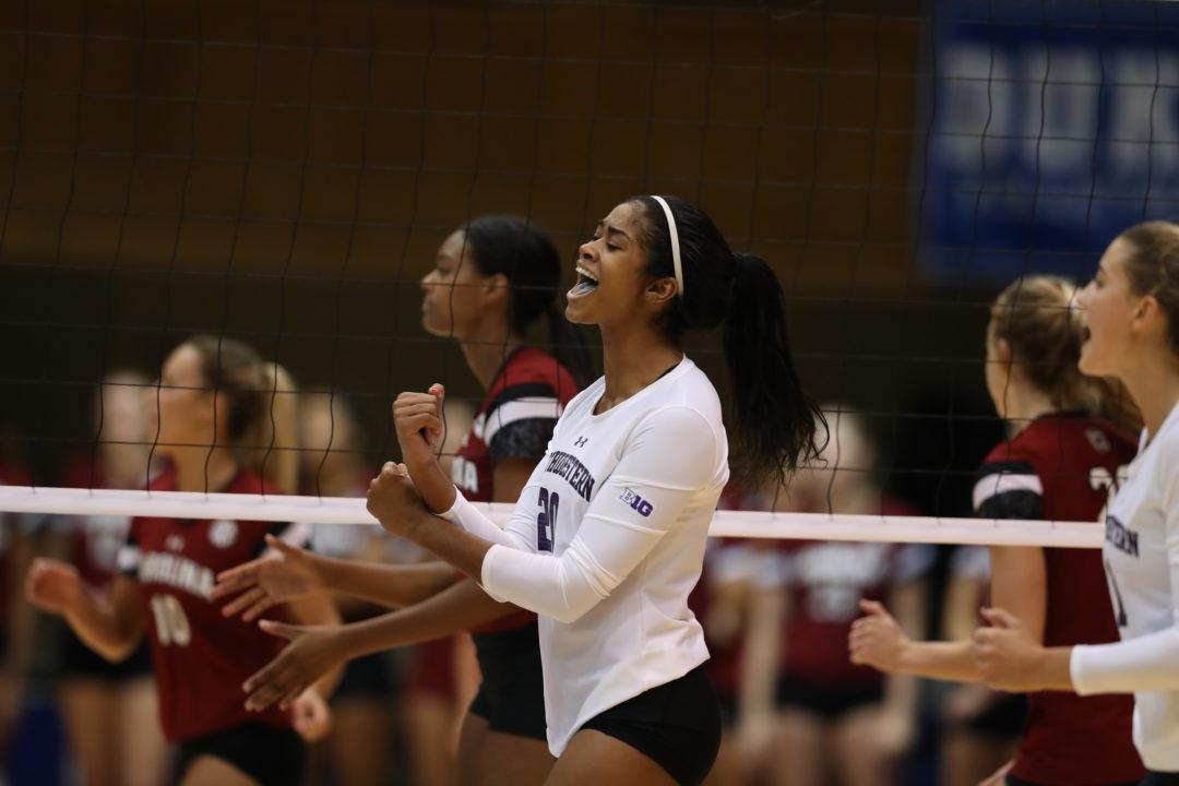 Northwestern's Alana Walker Hits at NCAA-Best .900 Clip vs. Colgate