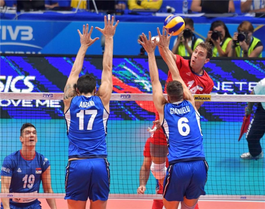 Serbia Makes a Statement in Front of Italy's Home Crowd