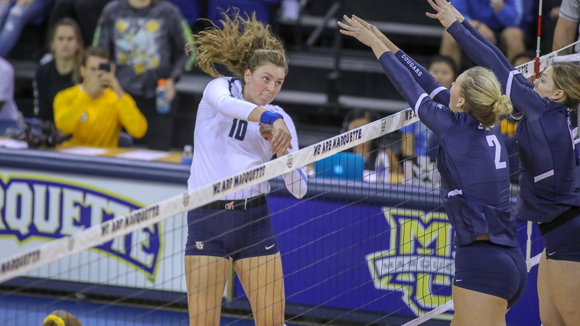Big East: Barber, Pedersen-Henry Notch 1000th Kill, Creighton is 4-0