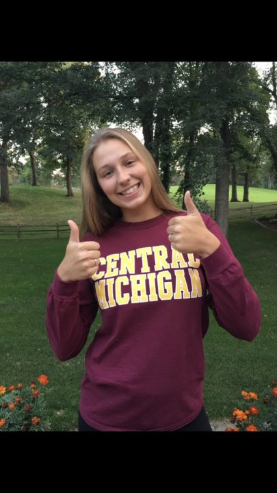 Class of 2019 OH Anna Erickson Commits to Central Michigan