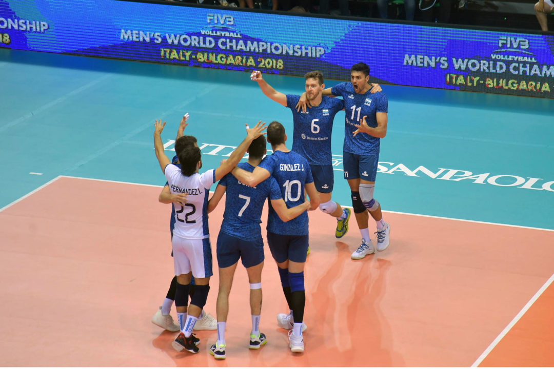 Argentina Advances Despite Loss to Japan; Italy Moves to 5-0 in Pool A