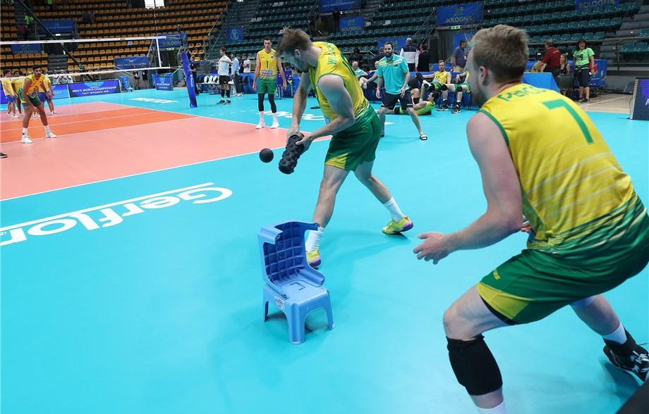 The Australian VolleyRoos: Bari's new favorite team