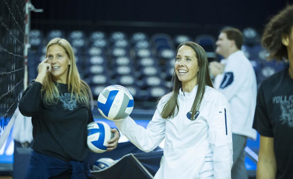Heather Olmstead Earns 100th Victory at BYU
