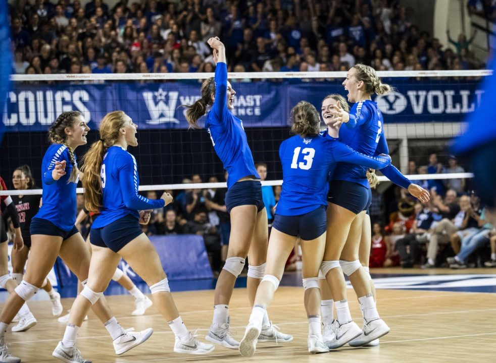 #1 BYU, Pepperdine Lead Day of Sweeps in the WCC