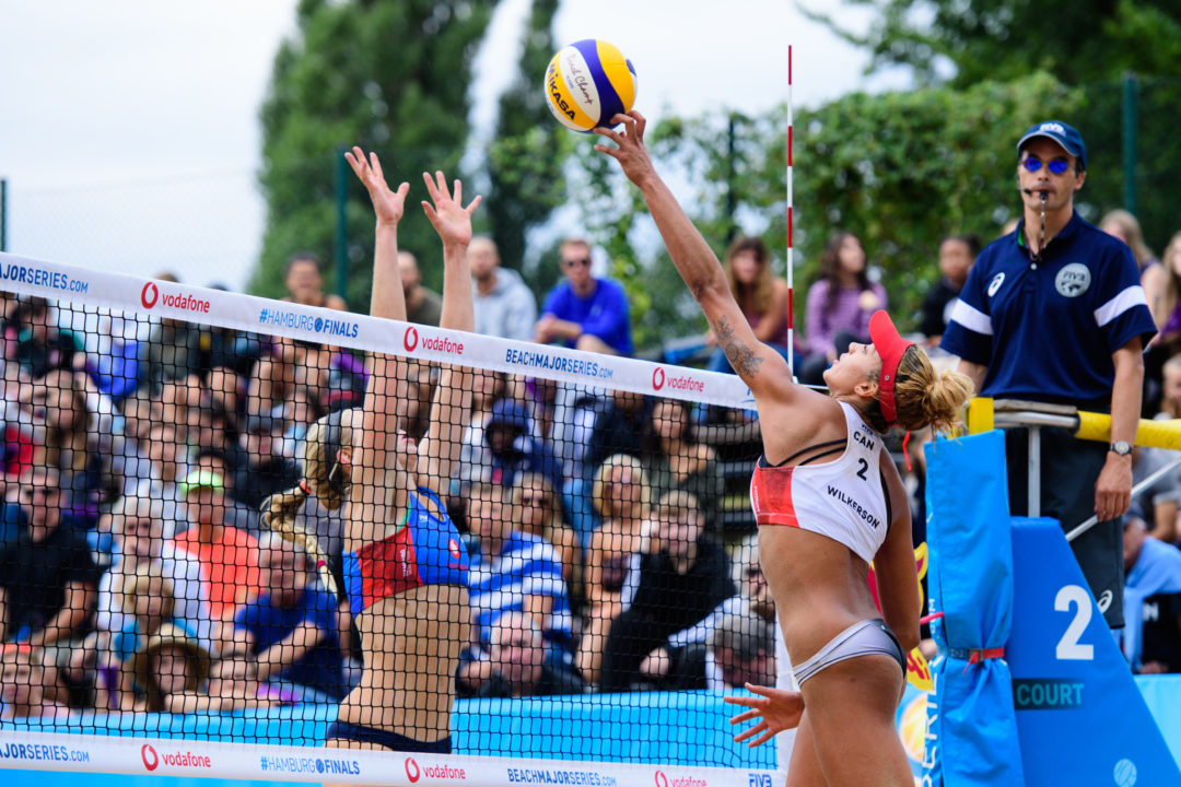 10 Questions with FIVB Top Blocker Brandie Wilkerson