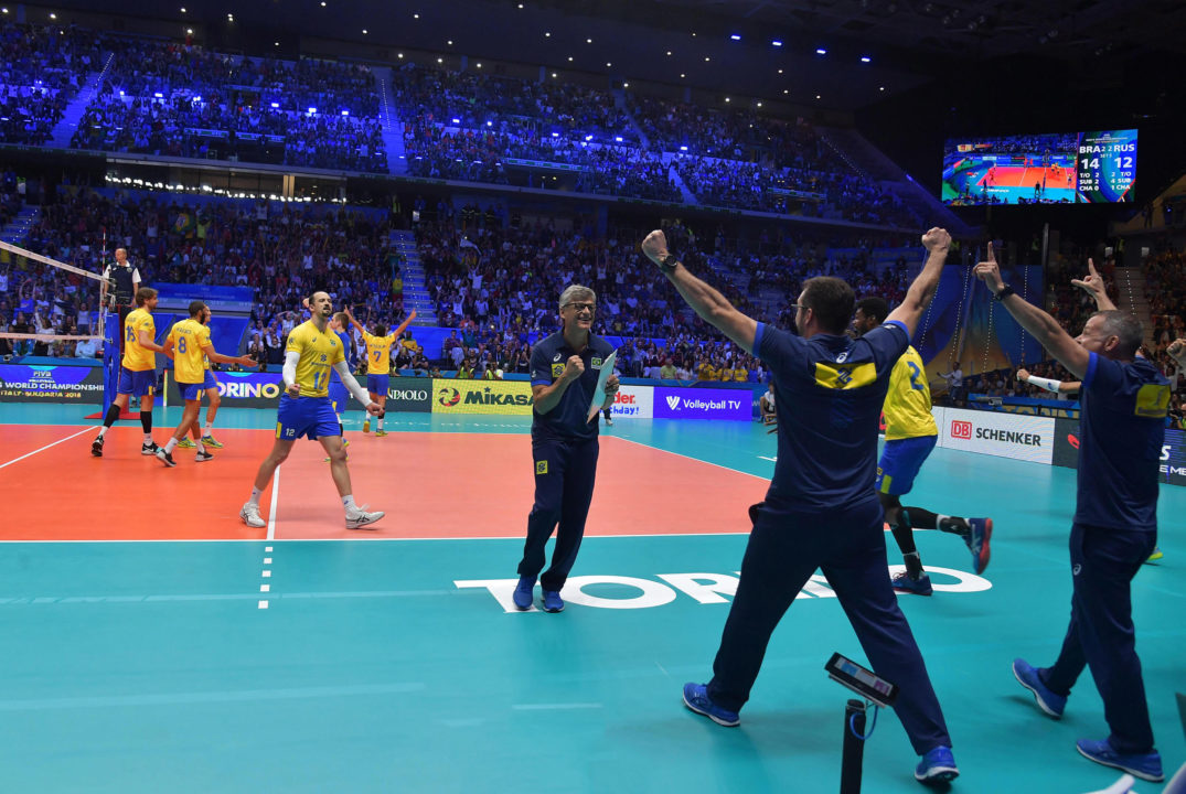 Backup Setter William Arjona Key as Brazil Tops Russia in 5