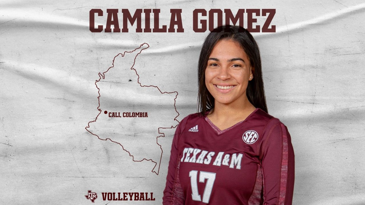 Colombian National Team Libero Camila Gomez will Join A&M in 2019