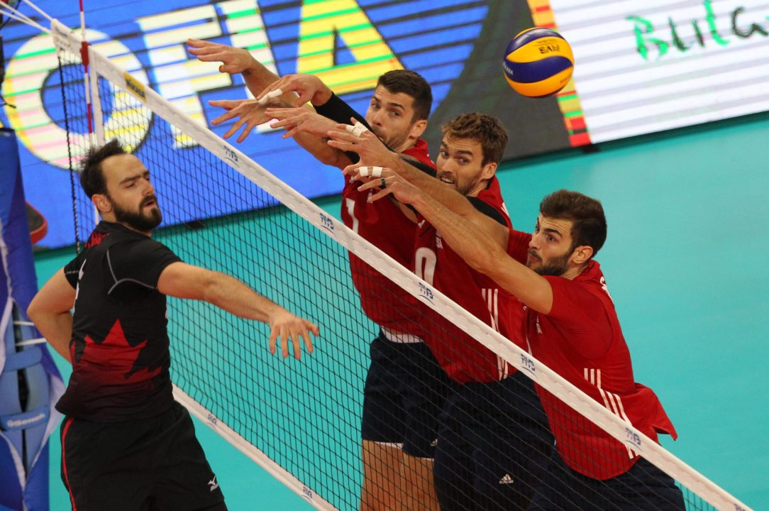 Bulgaria Holds an 14-11 All-Time Advantage over U.S. Men