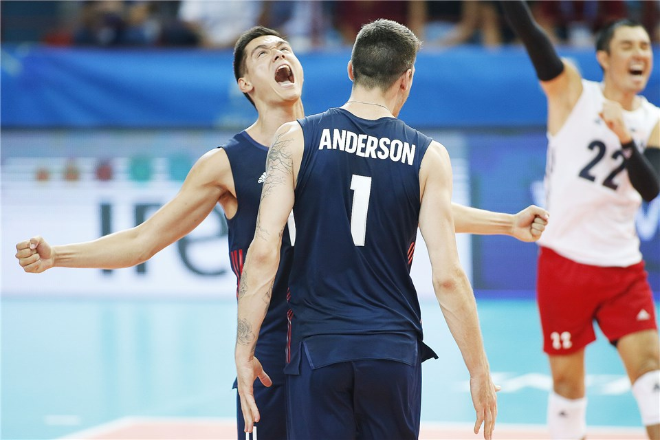 USA Beats Russia to Claim Top Spot in Pool C, Serbia Victorious