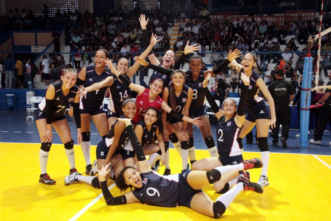 Costa Rica Takes 5th, Nicaragua 7th at NORCECA U-18