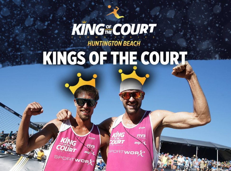 Crabb/Gibb Go Back to Back at King of the Court; Klineman/Ross Win Too