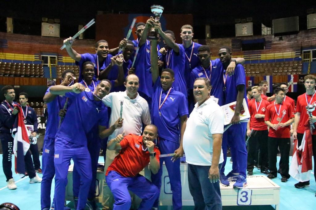 Cuba Wins Record 6th Title at NORCECA U-21 Championships