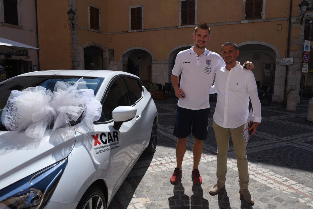Argos Volley Gifts Dusan Petkovic With Car For Leading A1 In Scoring