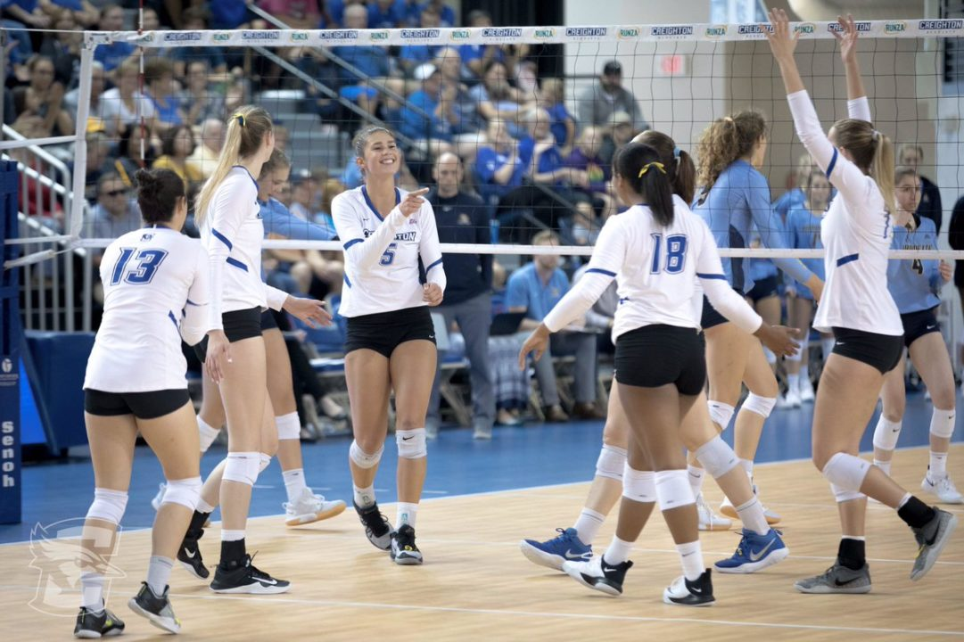 Big East: #12 Creighton Rallies Past Upset-Minded Xavier in Five Sets