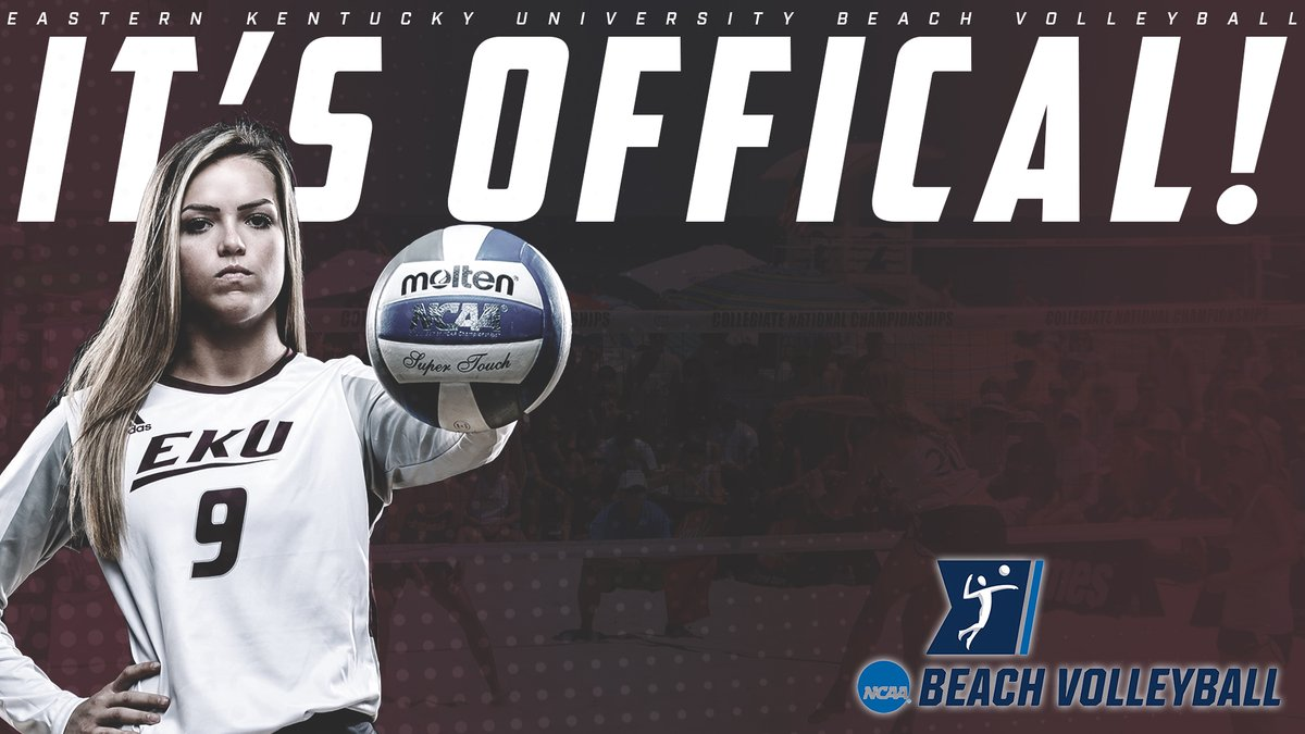 Eastern Kentucky Adds Beach Volleyball for 2019 Season