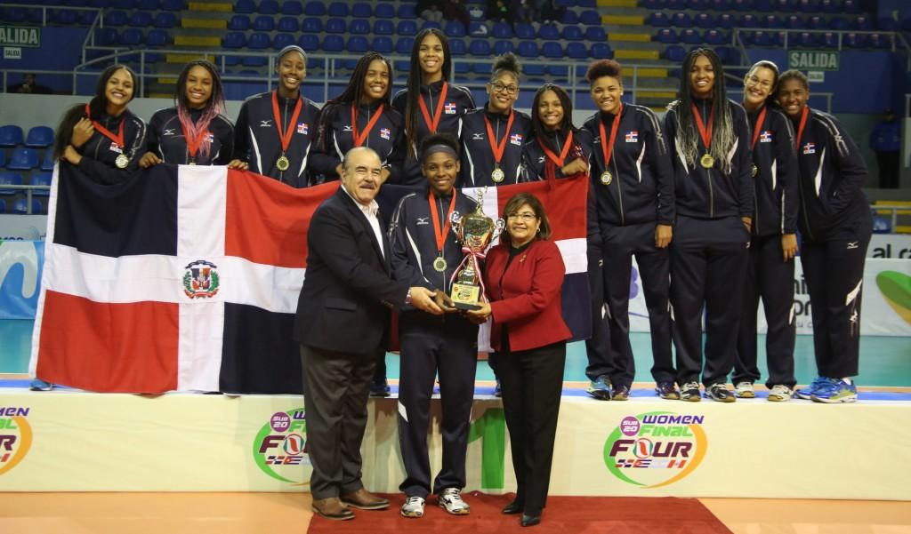 Dominican Republic Wins NORCECA's U20 Women's Final-4 Volleyball Cup