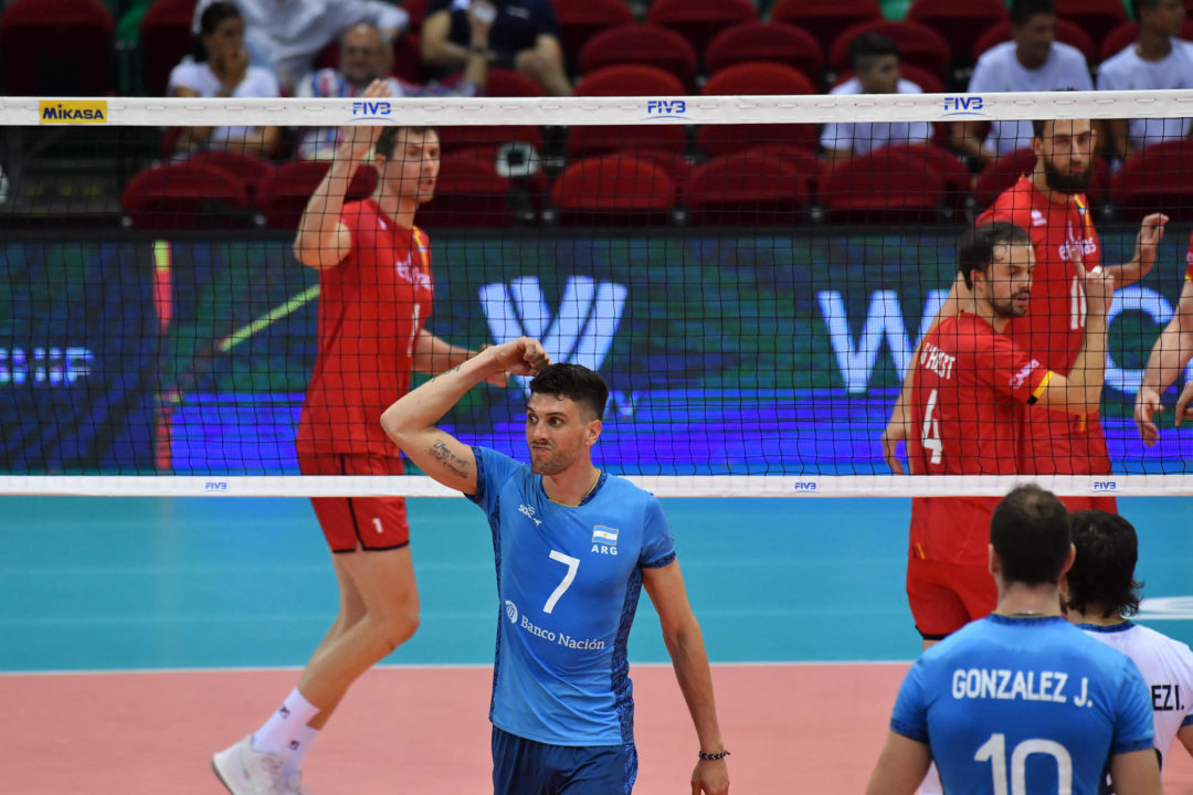 2018 FIVB Men's World Championships – September 18th, Daily Summary