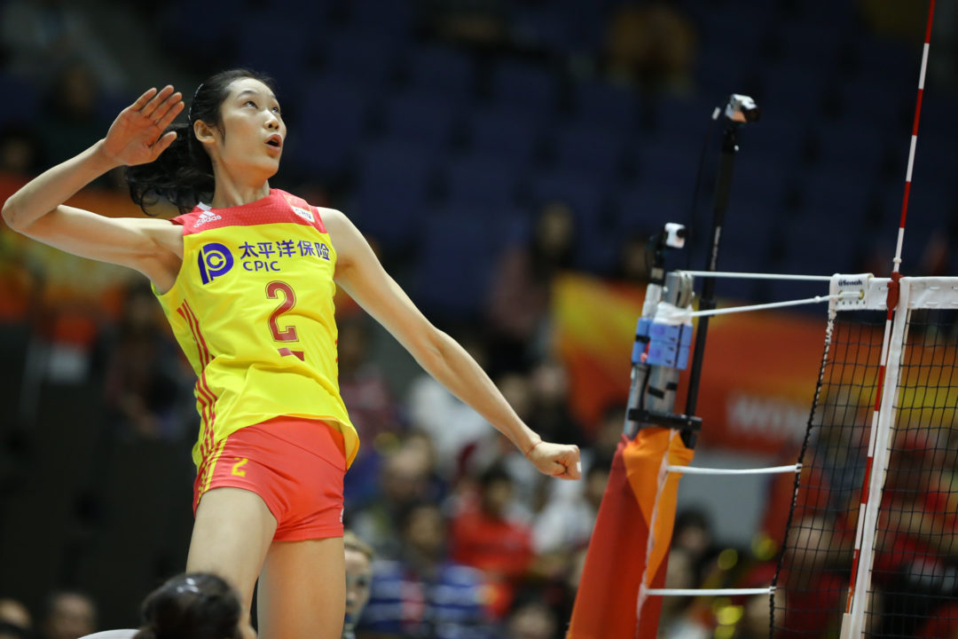 China Sweeps Turkey in First Major Match of Pool B