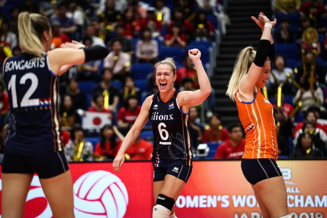 2018 W. Volleyball World Championships: September 30th Daily Summary