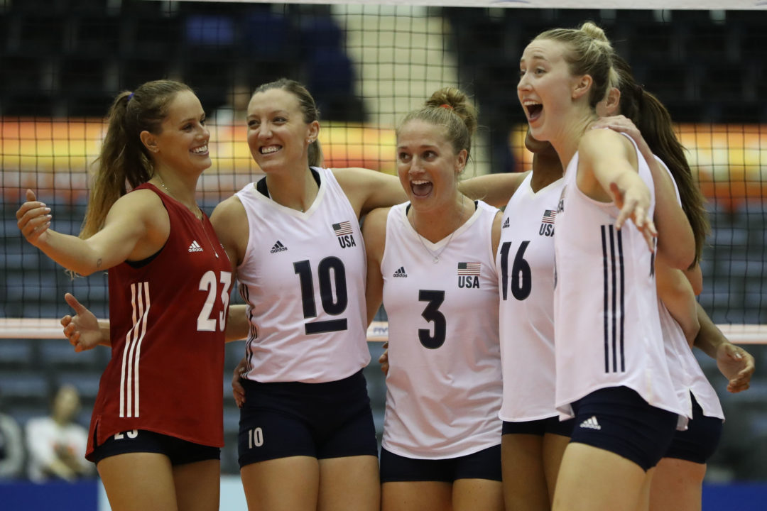 USA, Russia Get Sweeps; Thailand Wins Crucial Match to Open Pool C