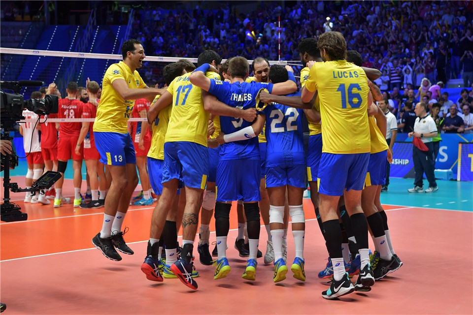 Brazil Books Ticket To 5th Straight WCH Finals