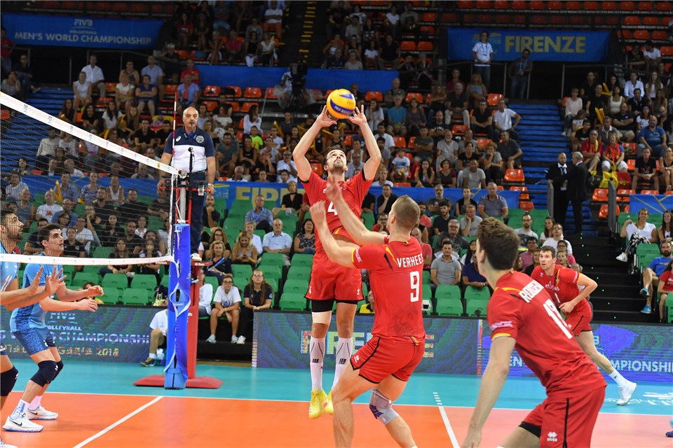 Belgian Star Setter Stijn D'Hulst Signed By Lube Civitanova