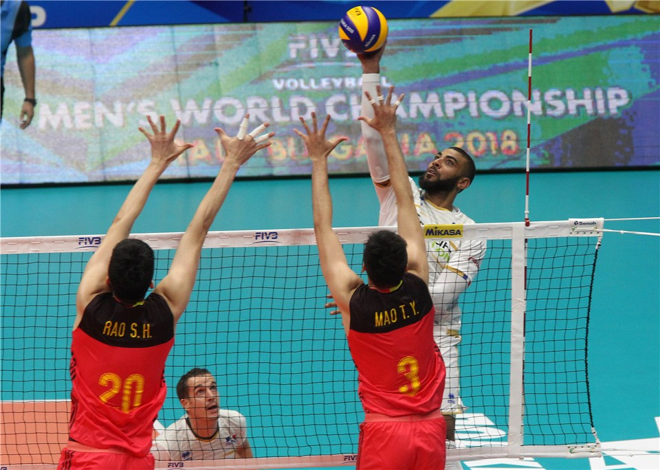 Recovering Ngapeth Plays 2 Sets In France's Debut Win Against China