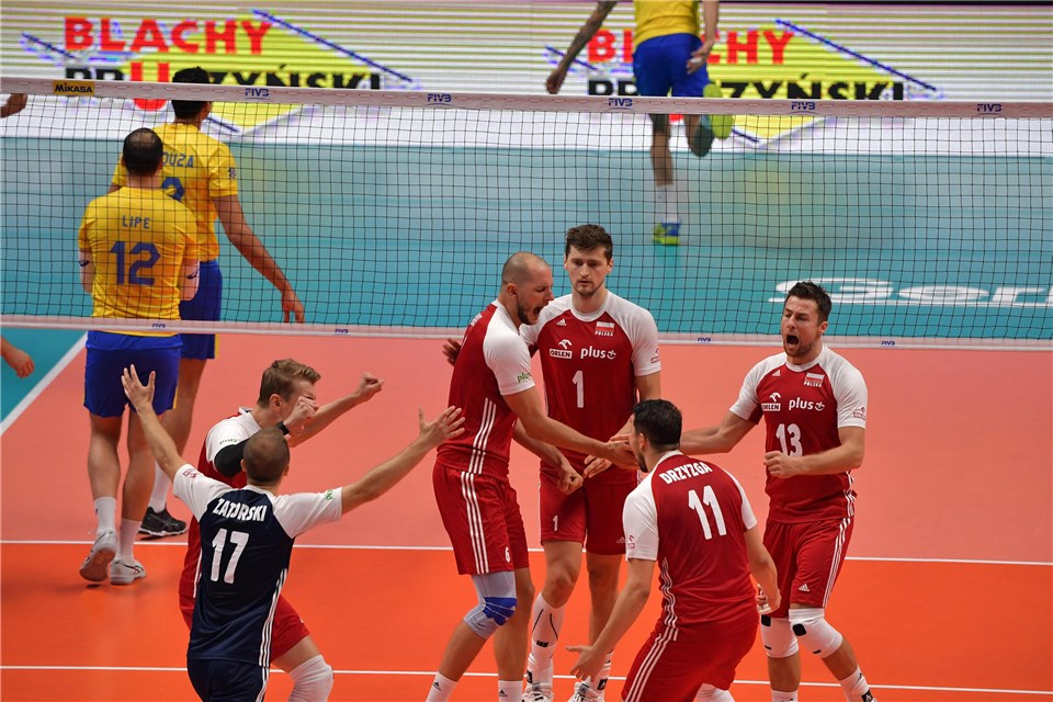 Poland Steamrolls Through Brazil 3-0 To Win WCH Gold