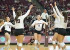 Hans Serves Up School Record 8 Aces for Texas A&M
