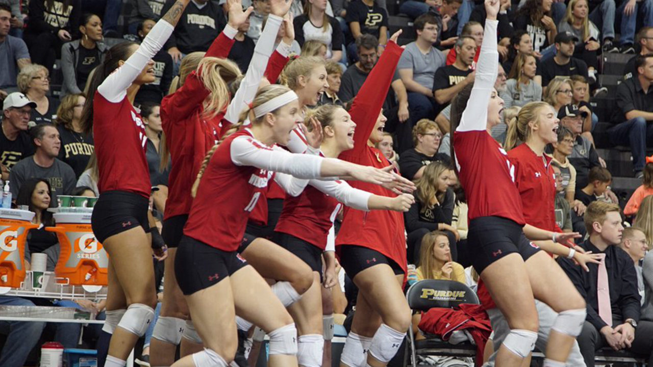 Road Warriors: #3 Wisconsin Sweeps #20 Purdue