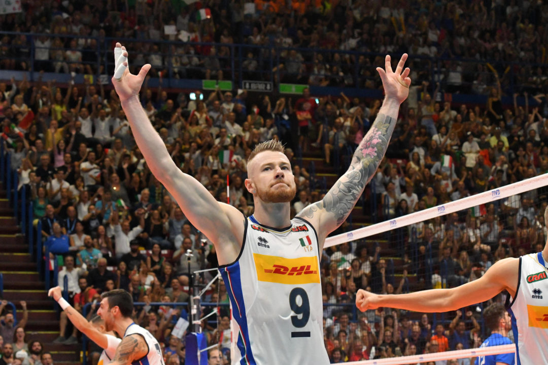 Ivan Zaytsev Proposed To During Match At World Champs