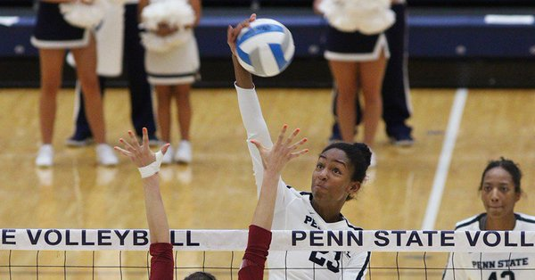 #12 Penn State Snaps #16 Michigan's Home Win Streak with Sweep