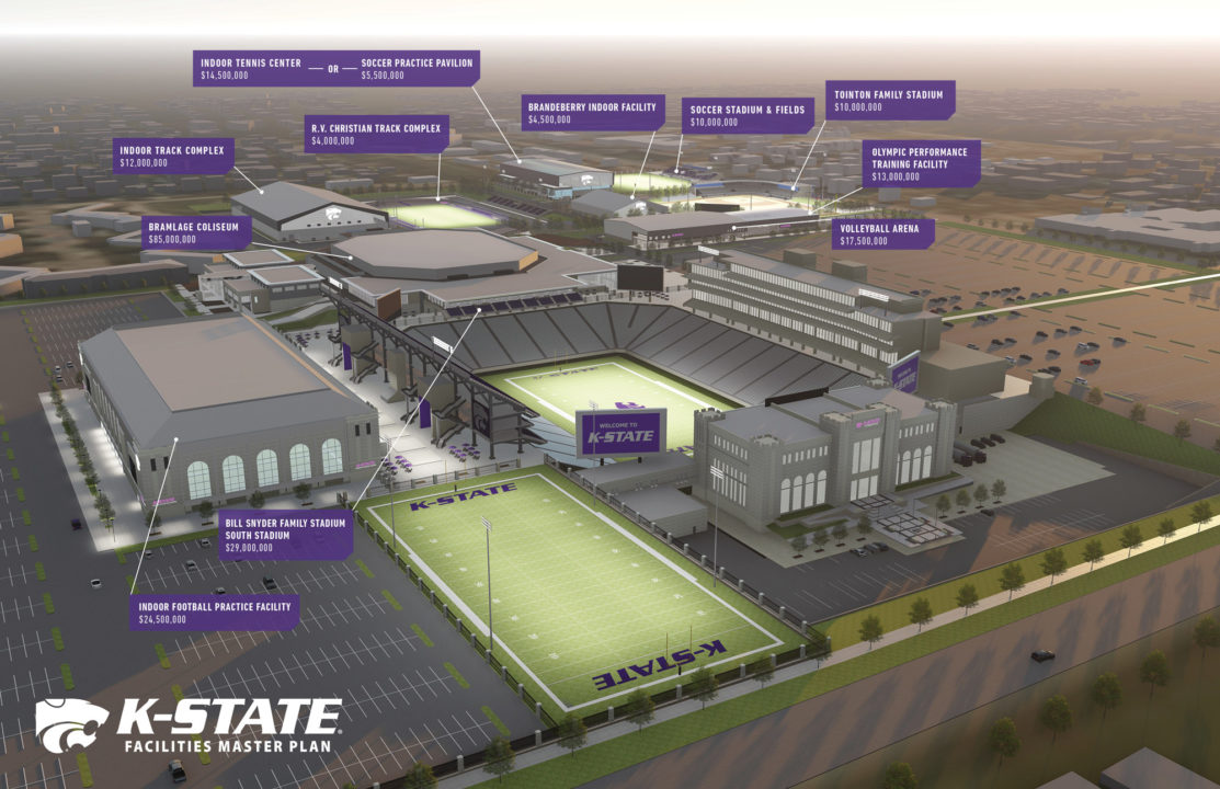 Kansas St. Proposes New Volleyball Arena as Part of $210 Million Plan