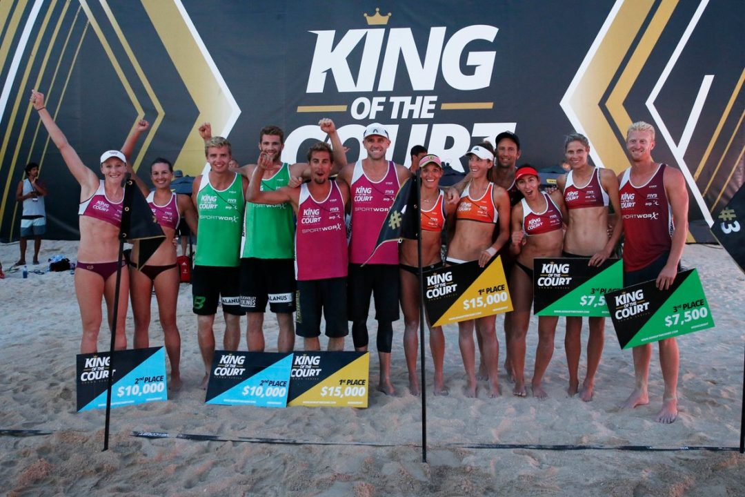 Stockman/Larsen, Crabb/Gibb Crowned King of the Court in Waikiki