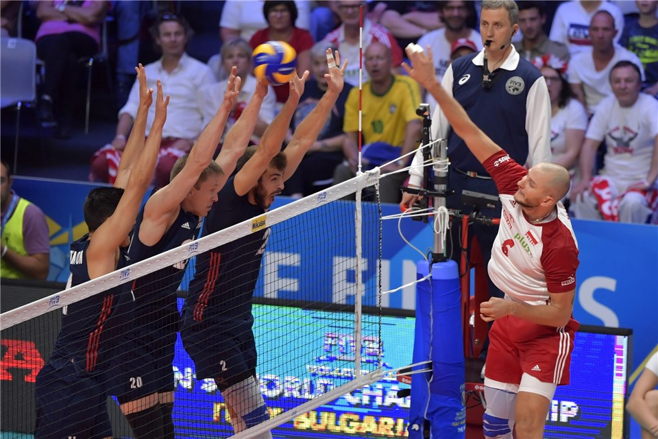 Poland Outlasts USA to Set Up WCH Finals Rematch From 2014