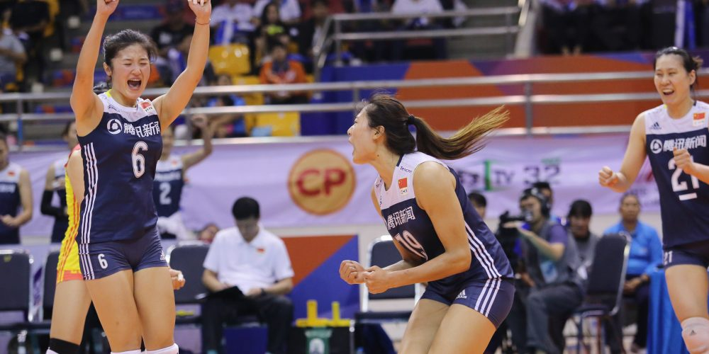 Liu Yanhan Scores 42 Points to Lead China to AVC Finals