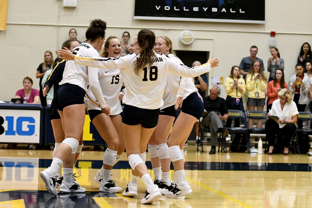 How Sweep It Is: 18 Kills, 7 Aces by Jones Leads Michigan to 9-0
