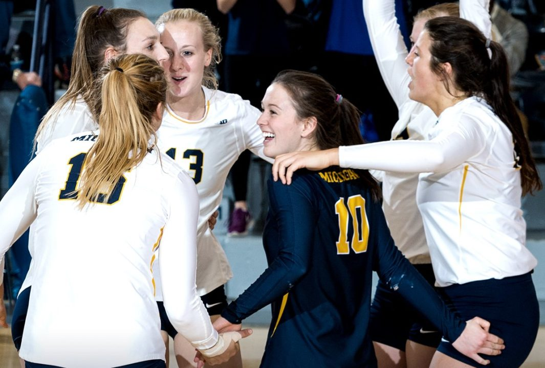 Double Victories: #19 Michigan, Colorado State Win 2 Each in Ann Arbor